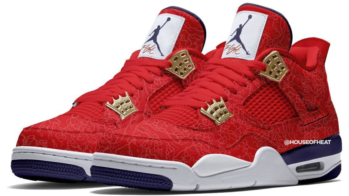 newest 20b6c 86dff Air Jordan 4 Retro SE  Fiba  Release Date July 2019 CI1184-617   Sole  Collector
