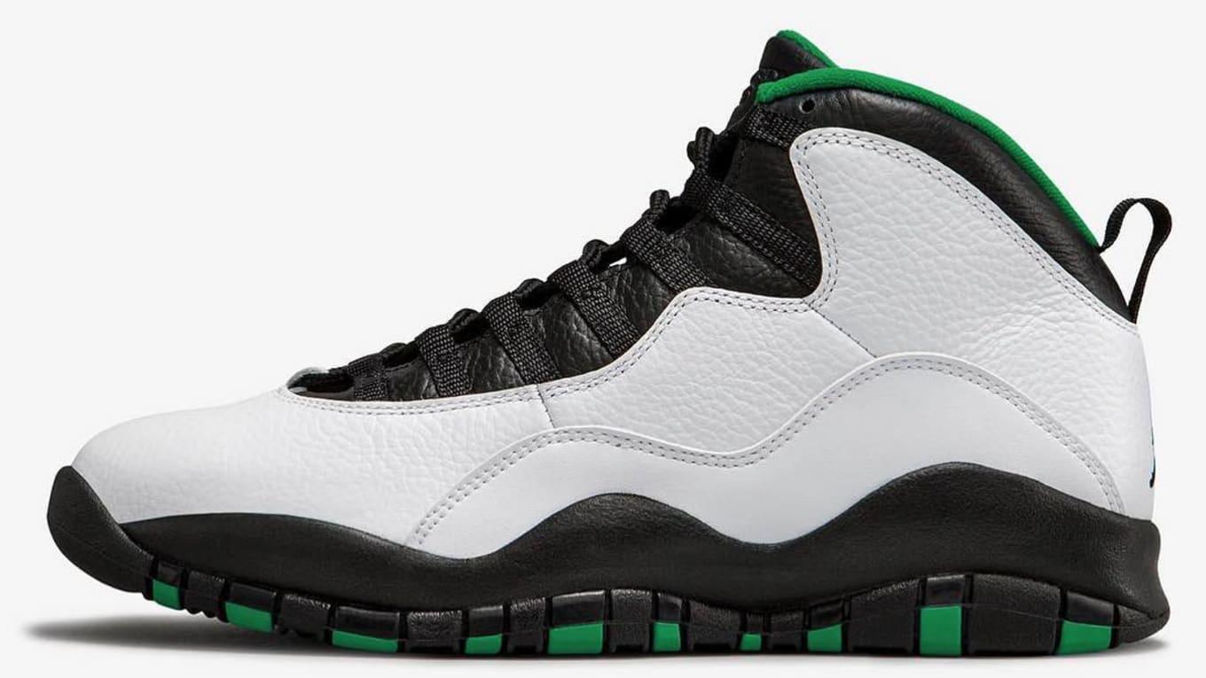 super popular 03ac1 285e5 Air Jordan 10 'Seattle' 310805-137 Release Date | Sole Collector