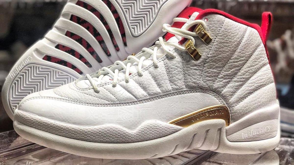 Air Jordan 12 Retro FIBA Release Date 08 24 2019 Sole