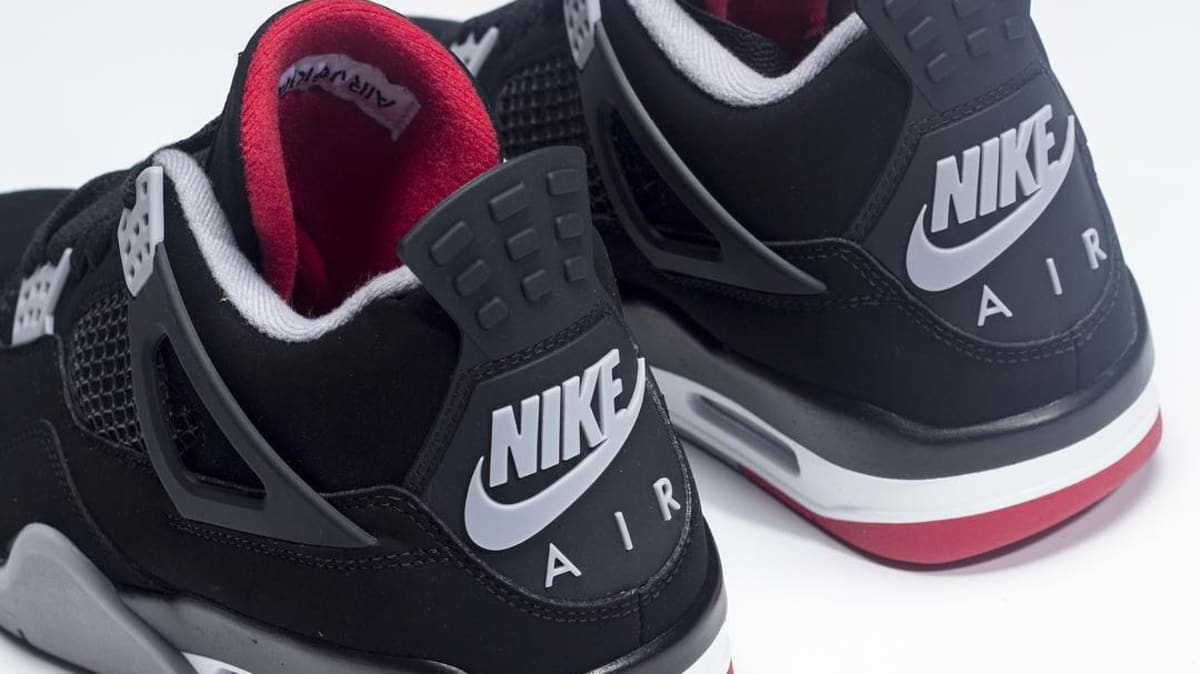 First Look At The Upcoming 2019 Bred Air Jordan 4s 9e38e0ee1
