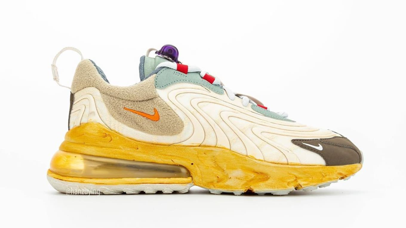 Travis Scott Nike Air Max 270 React CT2864 200 Release Date