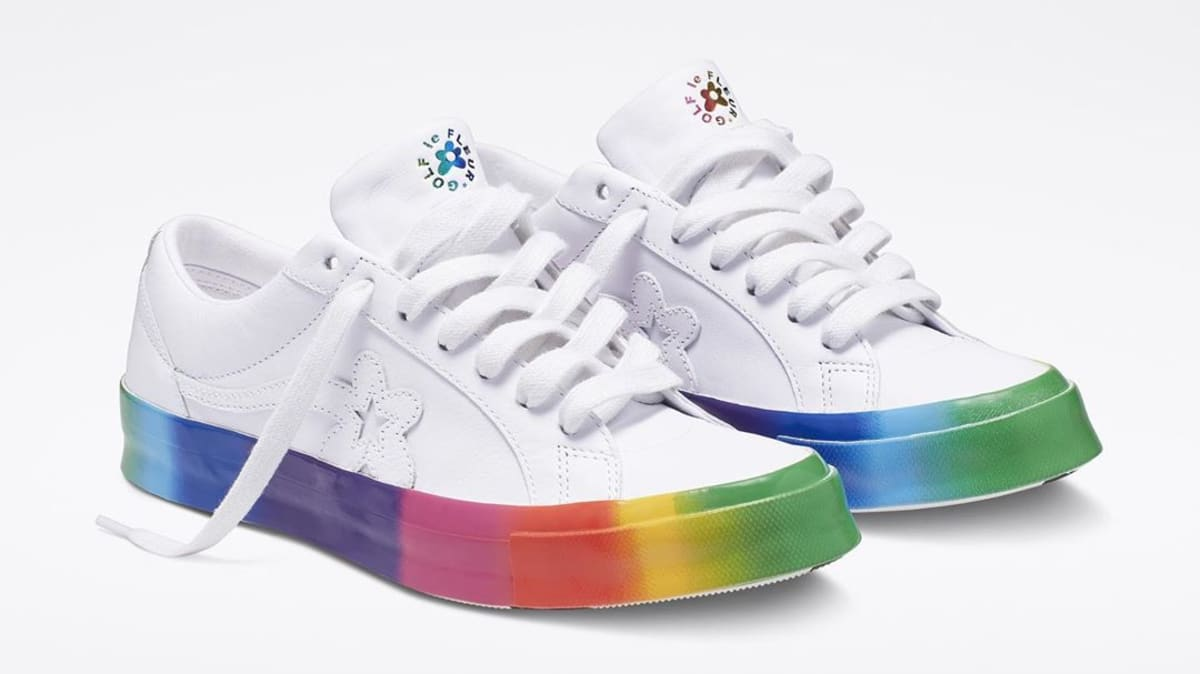 Golf le Fleur Converse One Star Pride by Tyler, The ...