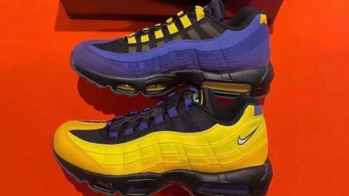 LeBron James Has a Lakers-Themed Nike Air Max 95 Releasing Soon