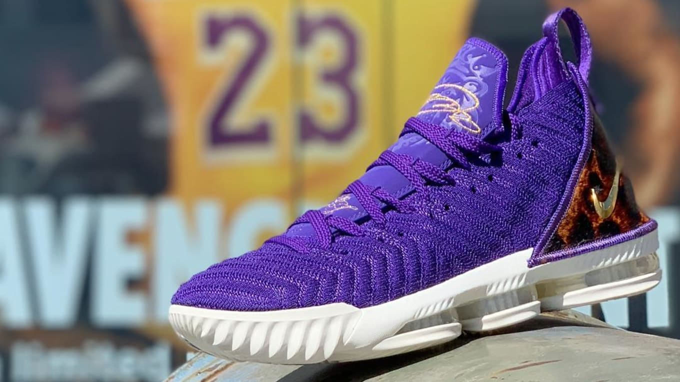 1641405ee6c2 Nike LeBron 16 King Court Purple Release Date AO2588-500