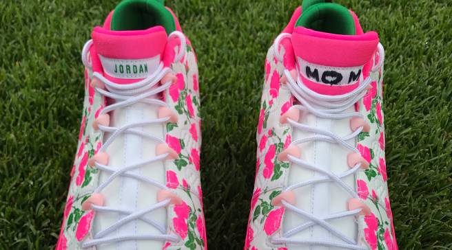 Jordan Brand s MLB Stars Are Wearing Floral Cleats for Mother s Day 794a1f38c7