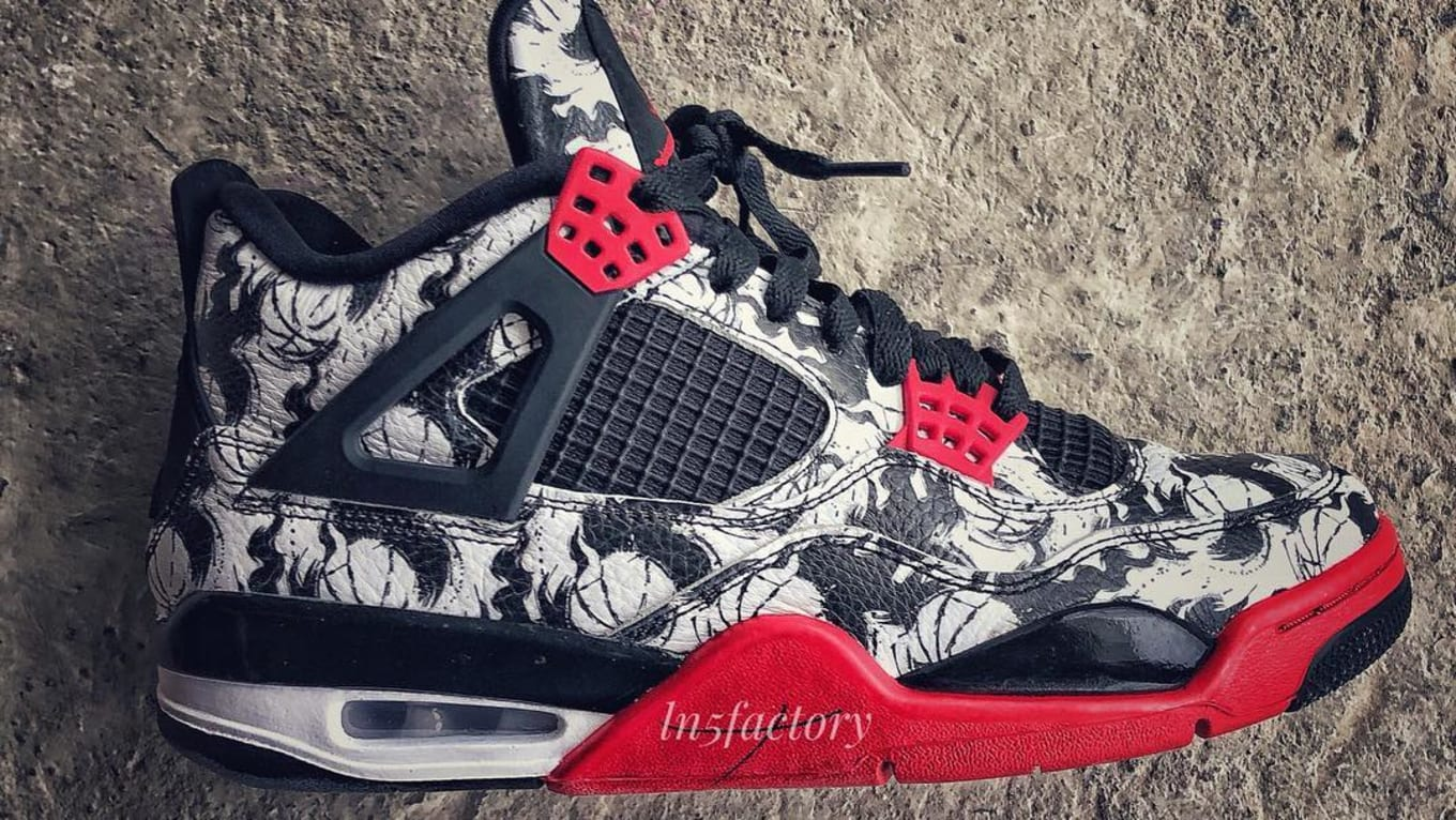c79fee9cbe25 Air Jordan 4 Graphic Print Early Look