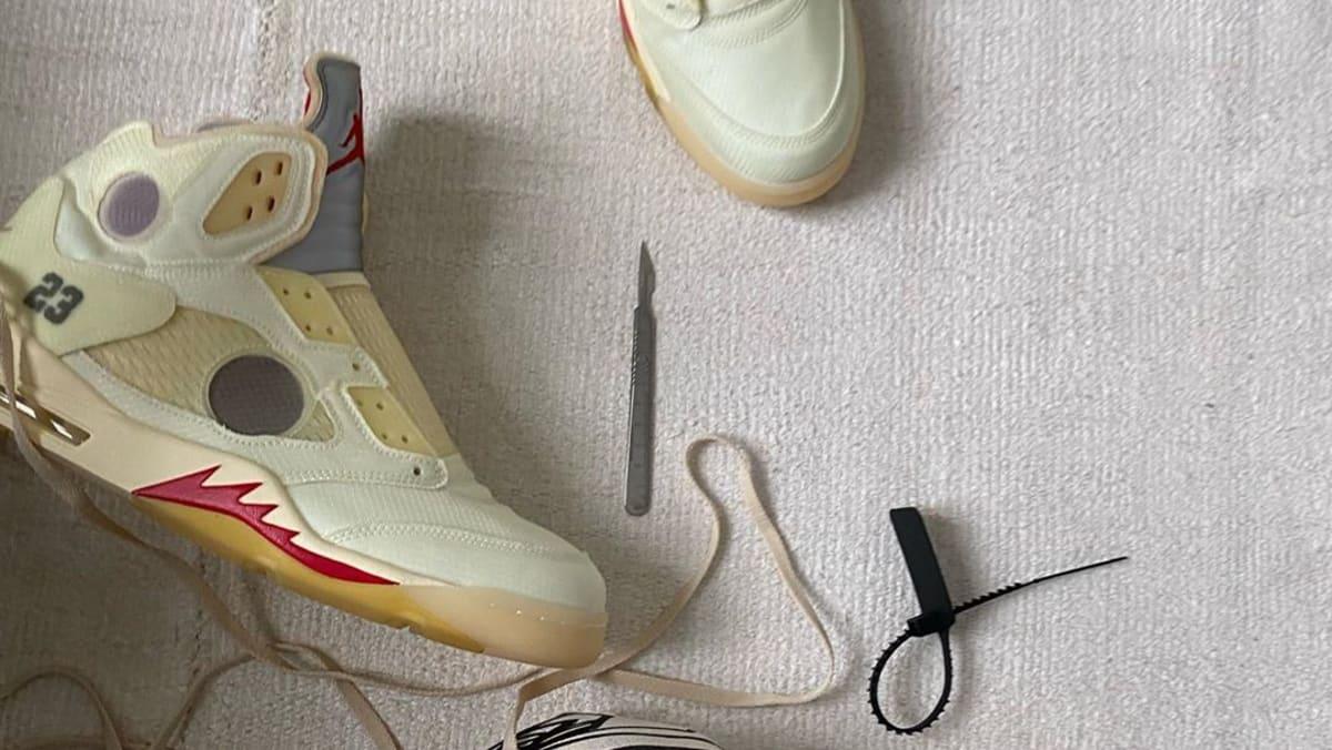 Virgil Abloh Unveils Unreleased Off-White x Air Jordan 5