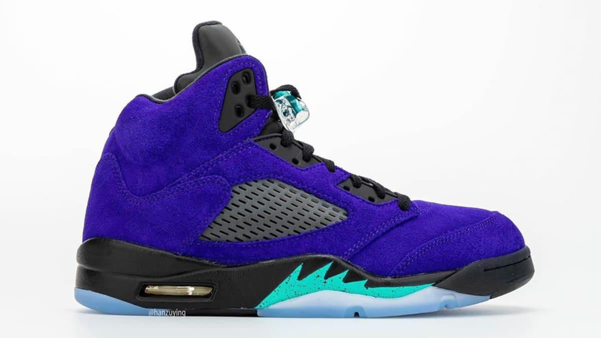 New Release Date For The 'Alternate Grape' Air Jordan 5