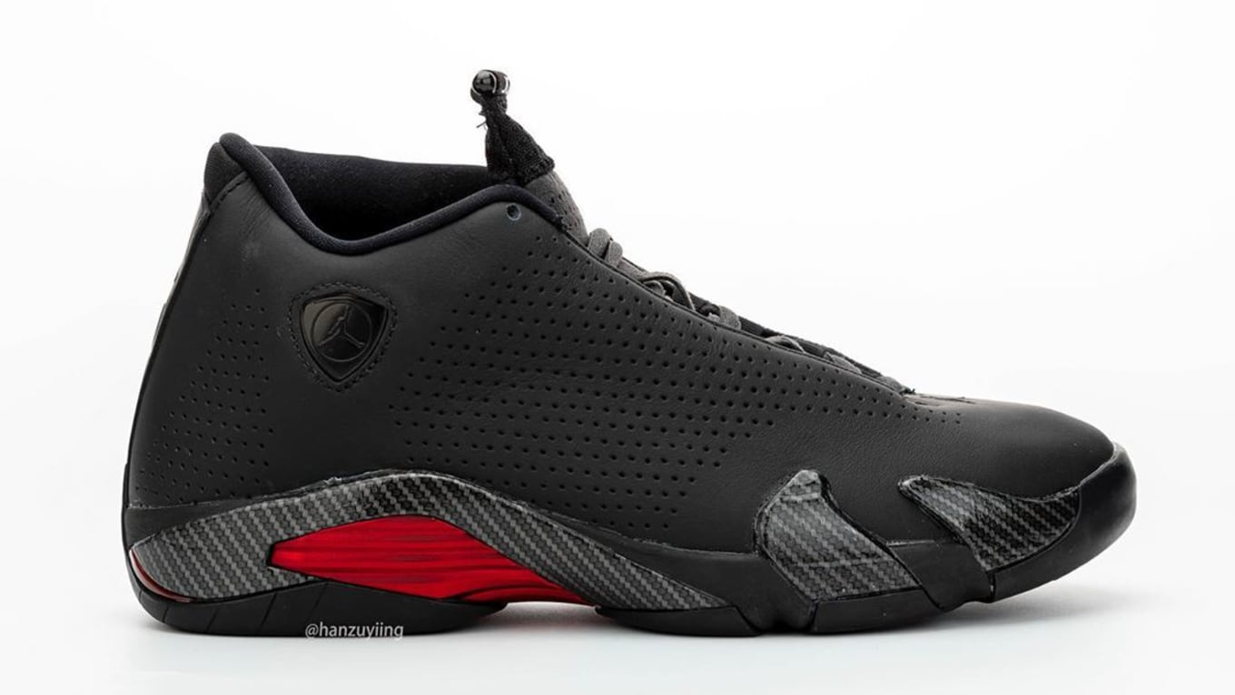 Air Jordan 14 Retro Black Ferrari Release Date Bq3685 001 Sole Collector