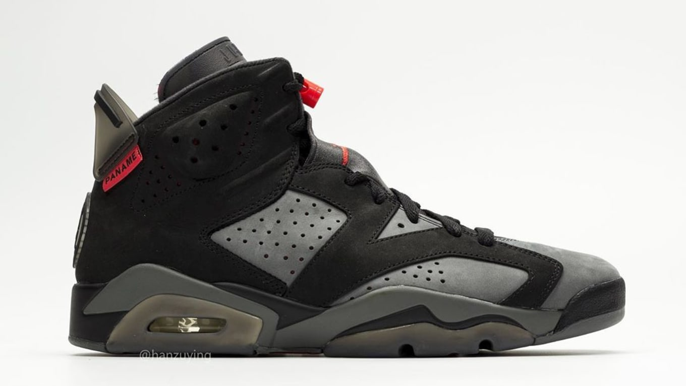f59ff620ab9 Air Jordan 6 Retro 'PSG' Iron Grey/Infrared 23-Black CI4072-001 ...