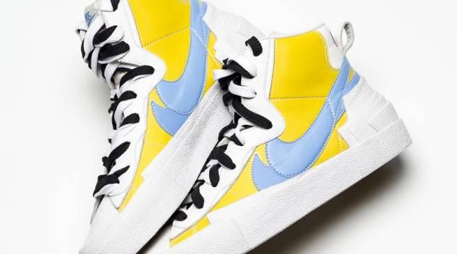 5e330aa25edd The Latest Look at the Previously Unseen Sacai x Nike Blazer Collab