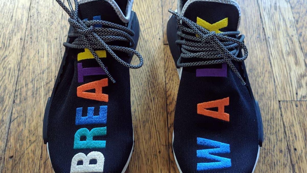 de70e31a7b029 Pharrell Williams x Adidas NMD Hu  Breathe and Walk  Friends and Family  Exclusive