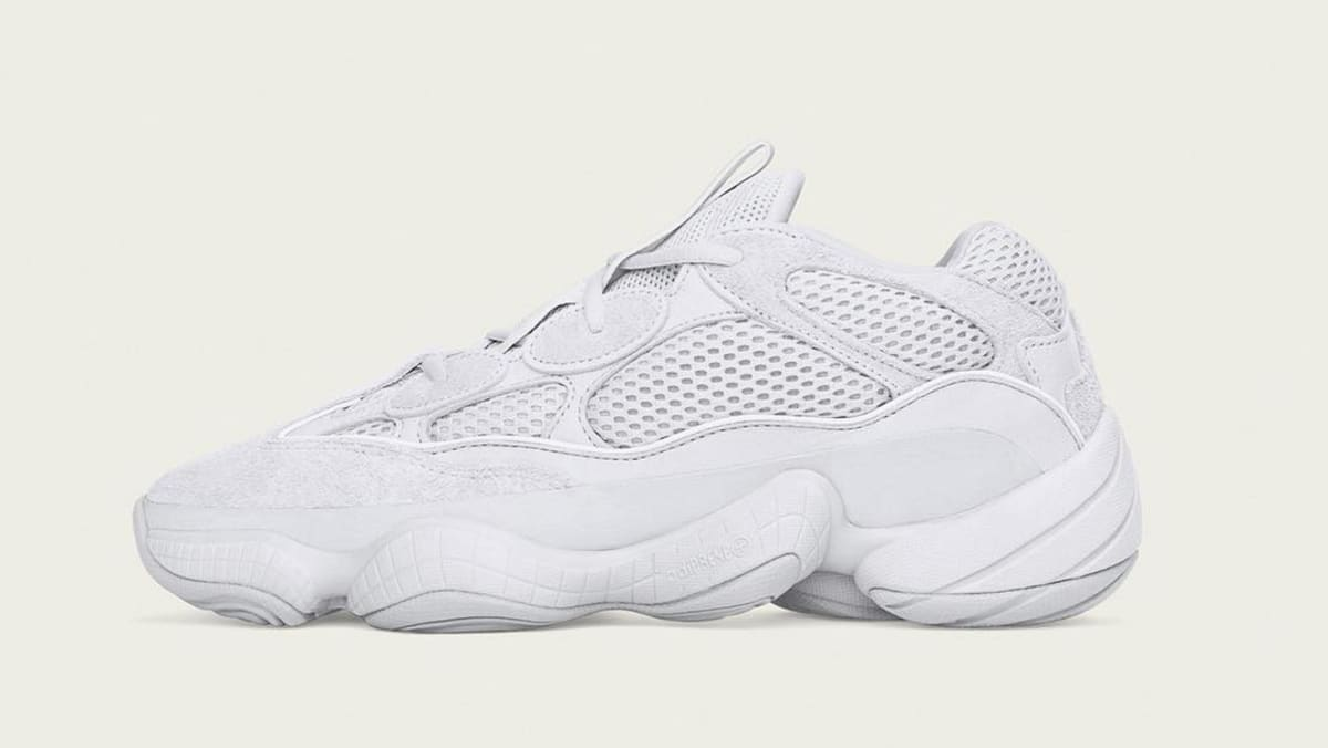 outlet store 3a98d f75f8 Adidas Yeezy 500 'Salt' EE7287 Release Date | Sole Collector