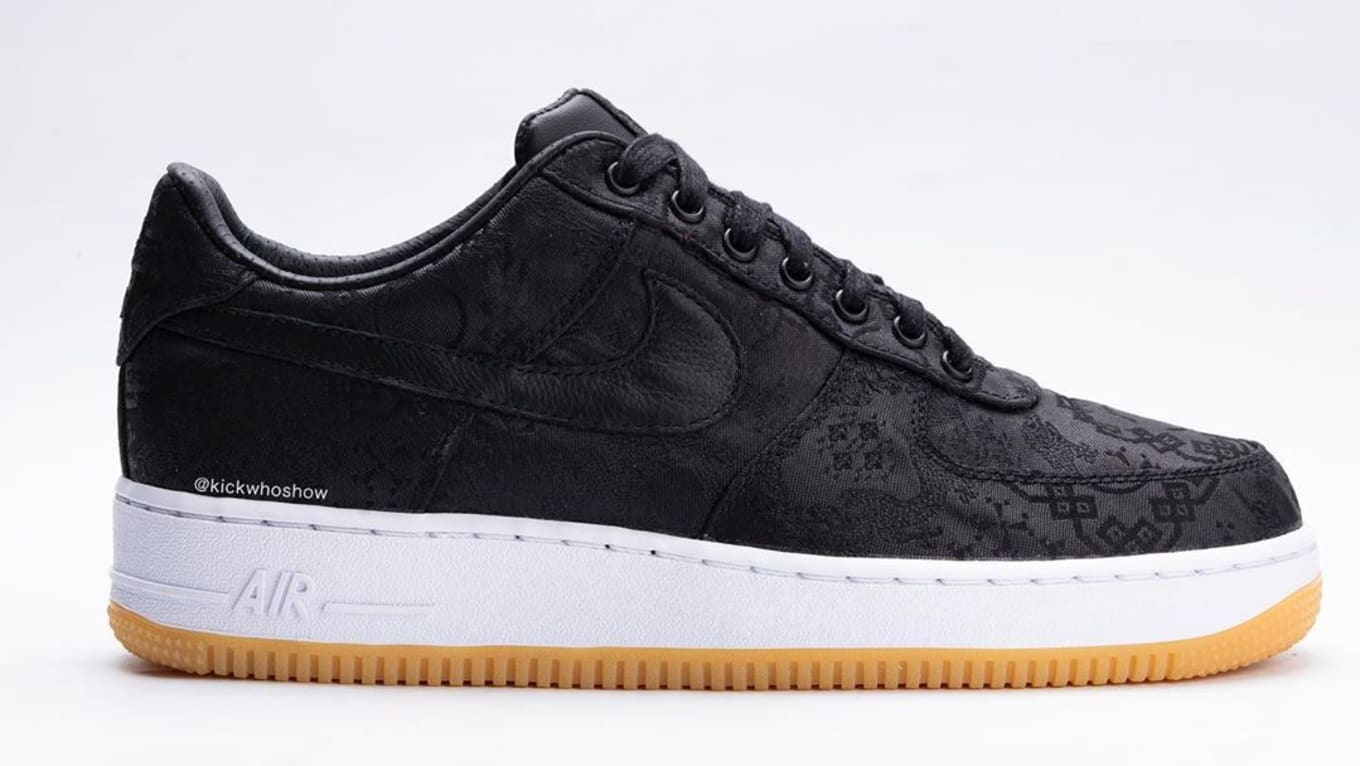 Fragment x Clot x Nike Air Force 1 PRM 'BlackUniversity Red