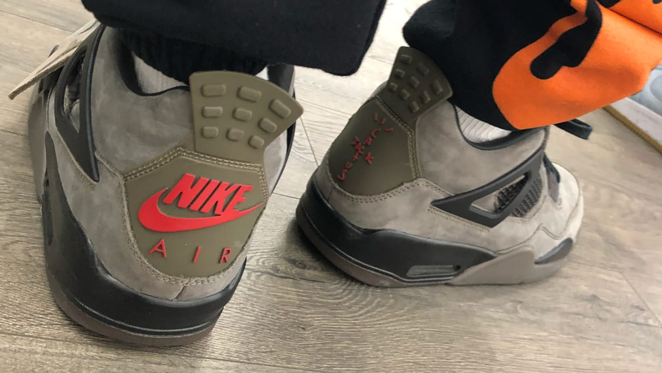 Travis Scott Has Another Air Jordan 4 Collab Dropping. The latest on the   Olive  colorway rumored to release later this year. d9a7d3d83