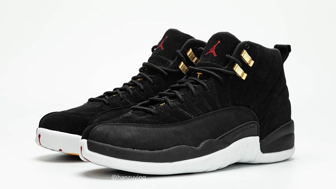 new styles f4817 e839e Air Jordan 12 Retro 'Black/White/Taxi/Black' 130690-017 ...