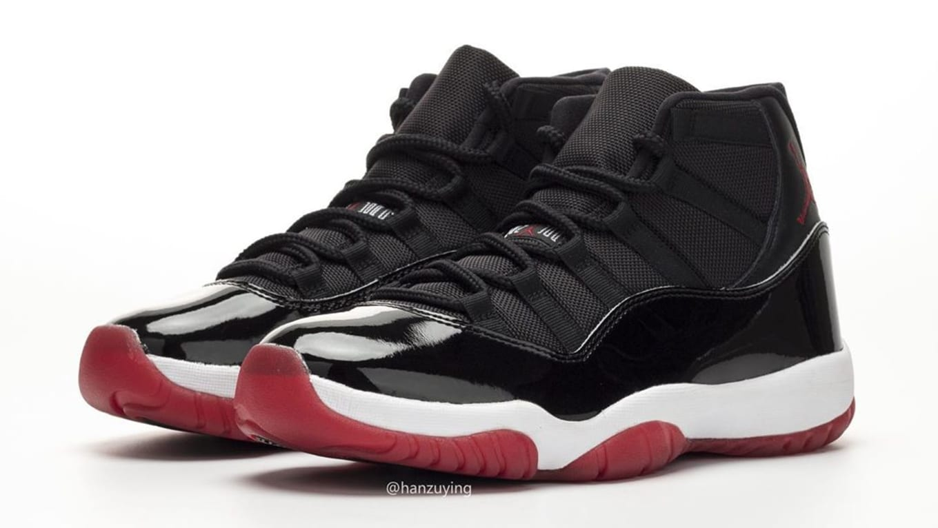 8fa930ff6cb This Year's 'Bred' Air Jordan 11 Retro Will Have Number 23 on the Heel