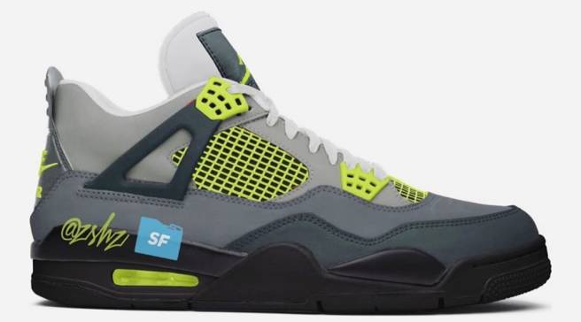 new style 1d8f4 13fcf This Air Jordan 4 Will Reportedly Mimic the  Neon  Air Max 95
