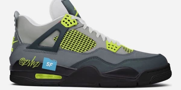 This Air Jordan 4 Will Reportedly Mimic the 'Neon' Air Max 95
