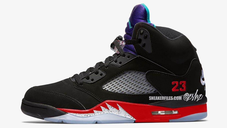 Air Jordan 5 'Top Three' Release Date CZ1786 001 | Sole