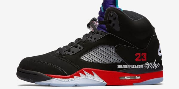 First Look at the 'Top Three' Air Jordan 5 Releasing This Spring
