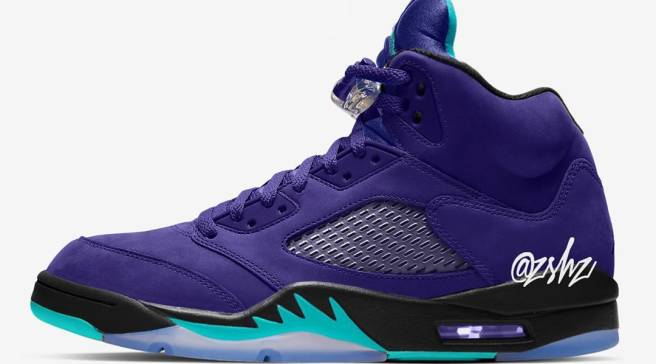 ca90f04fd259af A New  Grape  Air Jordan 5 Is Releasing in 2020