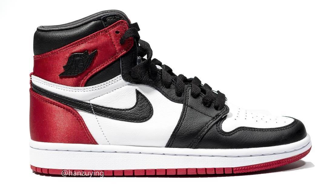 quality design 616bc 71b73 WMNS Air Jordan 1 'Satin Black Toe' Release Date CD0461-016 ...