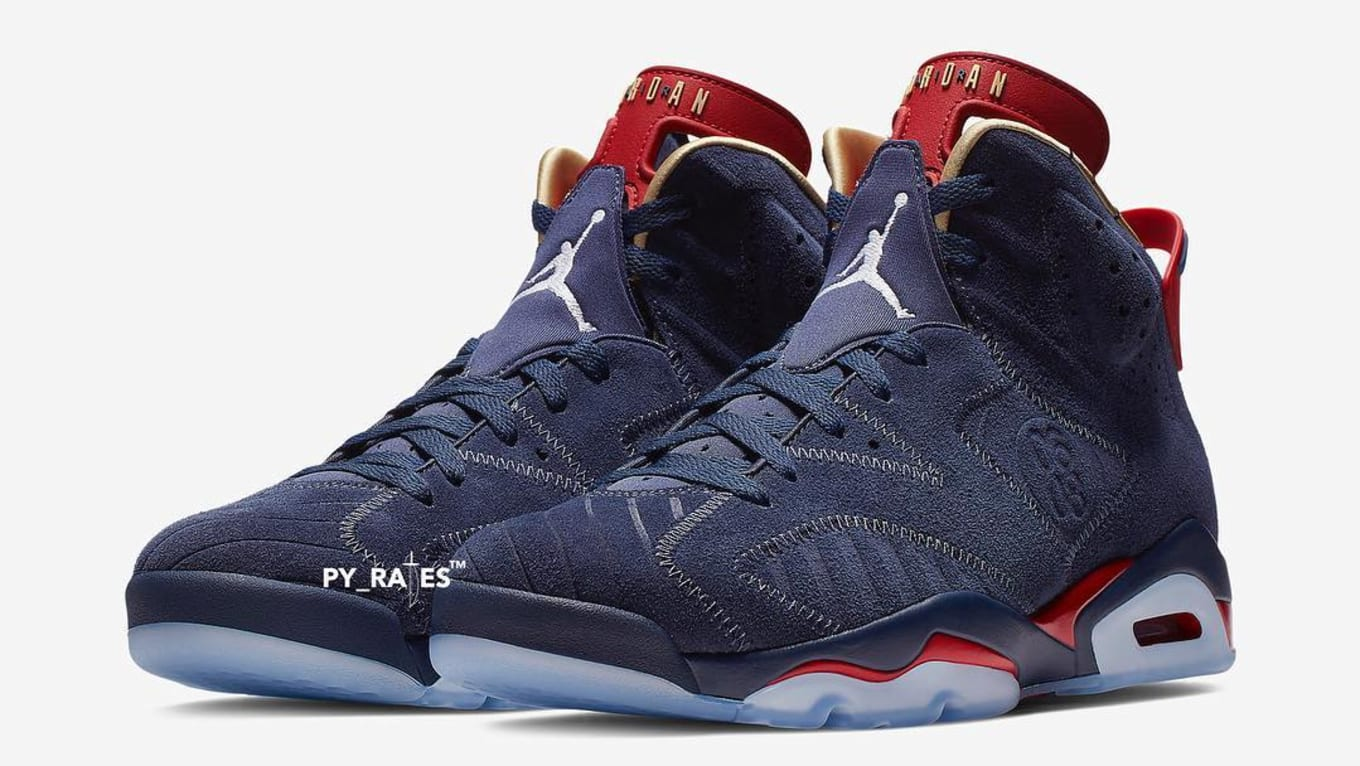 new styles f7a32 17bac Official Images of the Air Jordan 6 Retro  Doernbecher  Surface