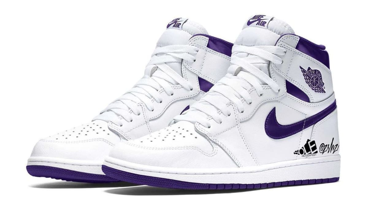 Air Jordan 1 Retro High OG Women's 'Court Purple' Release ...