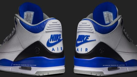 7eadbef1 Up Close With the Fragment x Air Jordan 3. Release Dates. July