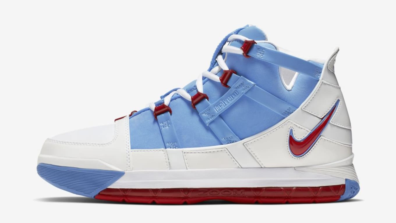 2973ee9e6b4ab Nike LeBron 3 QS  Houston All-Star  AO2434-400 Release Date
