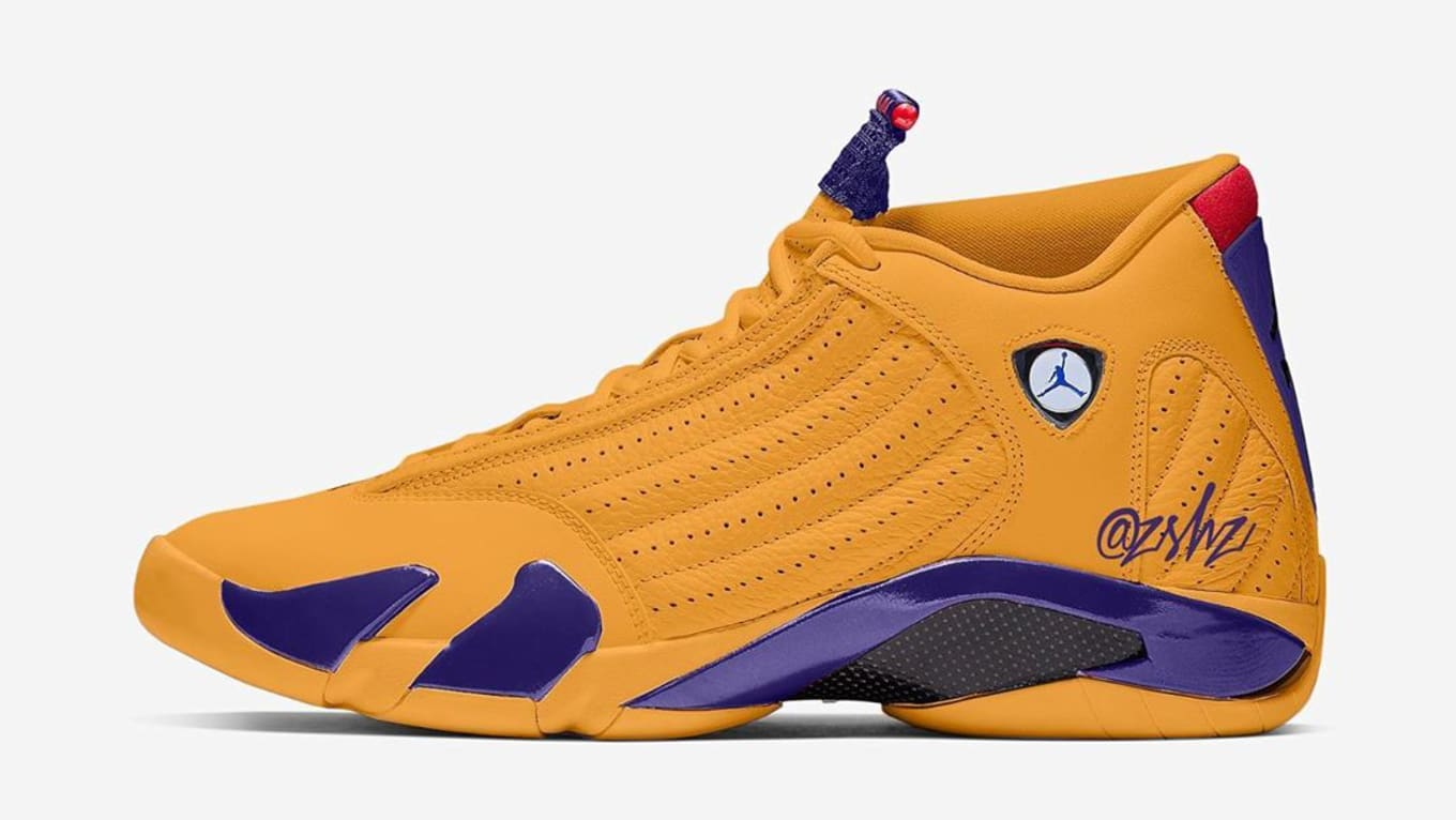 Air Jordan 14 Xiv Retro University Gold Release Date 487471 700