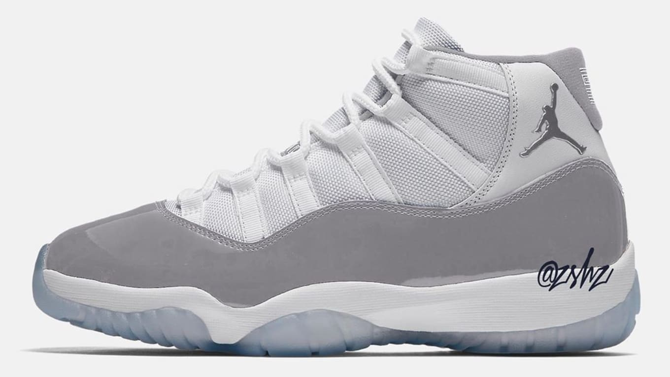 393a3cda513 Air Jordan 11 XI Vast Grey Release Date AR0715-100 | Sole Collector