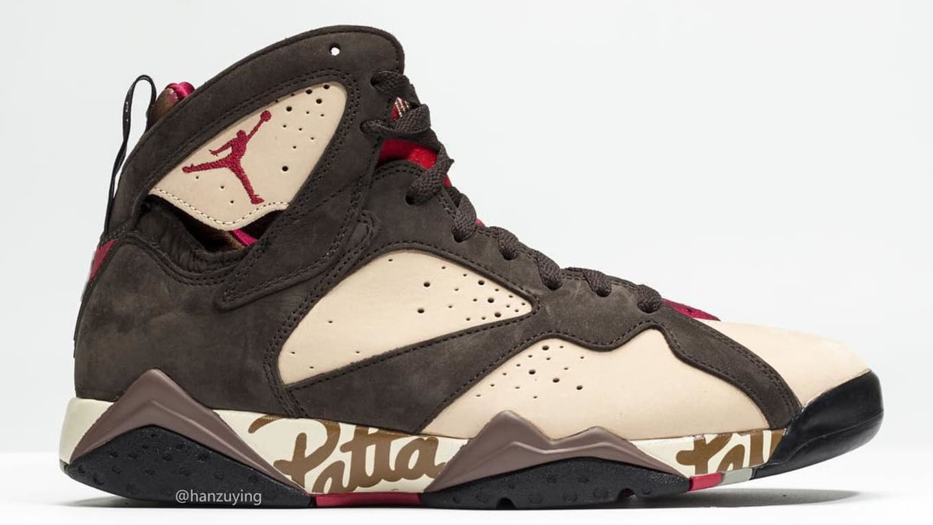 the latest 728b2 5e37e Patta Is Releasing Its Air Jordan 7 Collab This Weekend