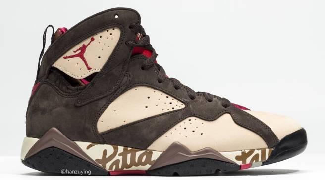 b92e625c981a Here s Another Look at the Patta x Air Jordan 7 Collab