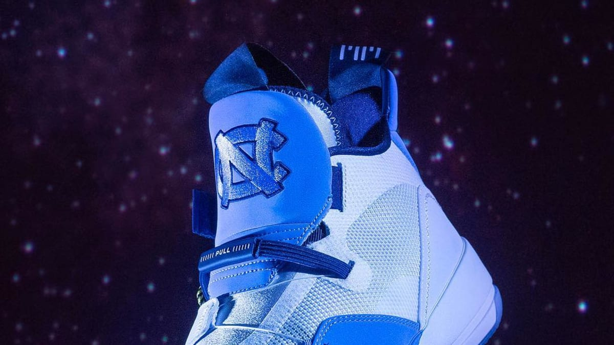 ad5b7f3b3a9 Air Jordan 33 'UNC Tar Heels' PE | Sole Collector