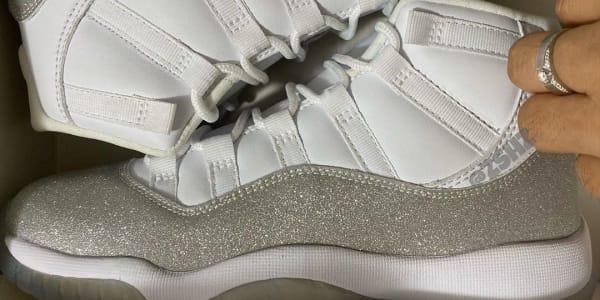 First Look at the 'Vast Grey' Air Jordan 11