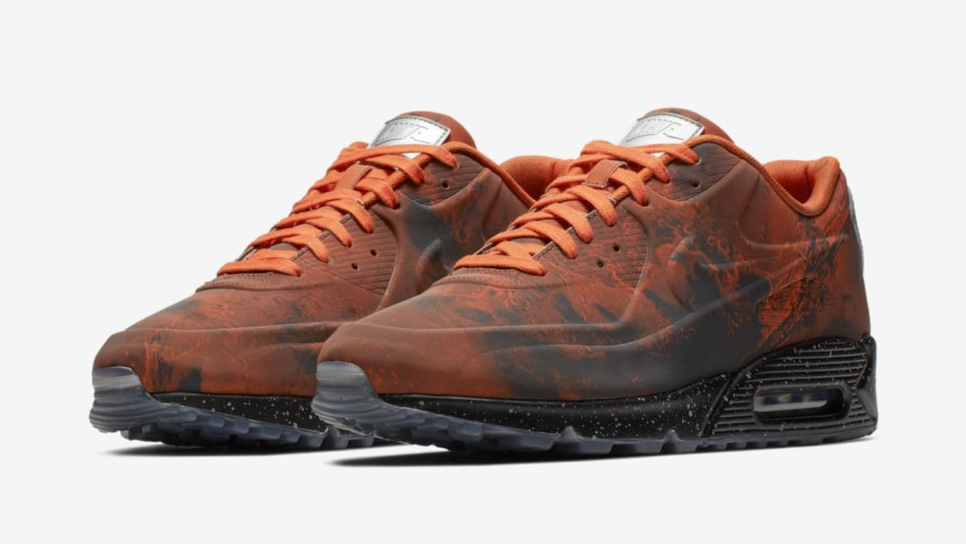 572bc7feb966 Nike Air Max 90 QS  Mars Landing  Mars Stone Magma Orange Release ...