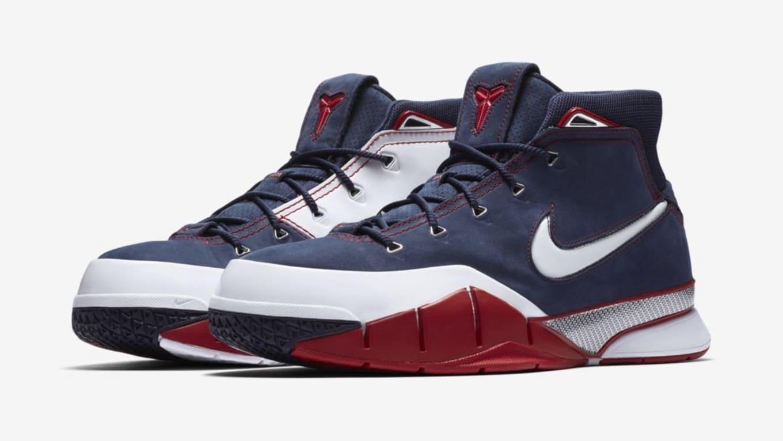 36bd5b65376 Nike Kobe 1 Protro  USA  AQ2728-400 Release Date
