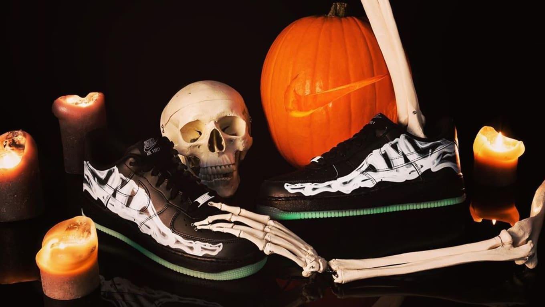 Nike Air Force 1 Low Black 'Skeleton' Release Date | Sole