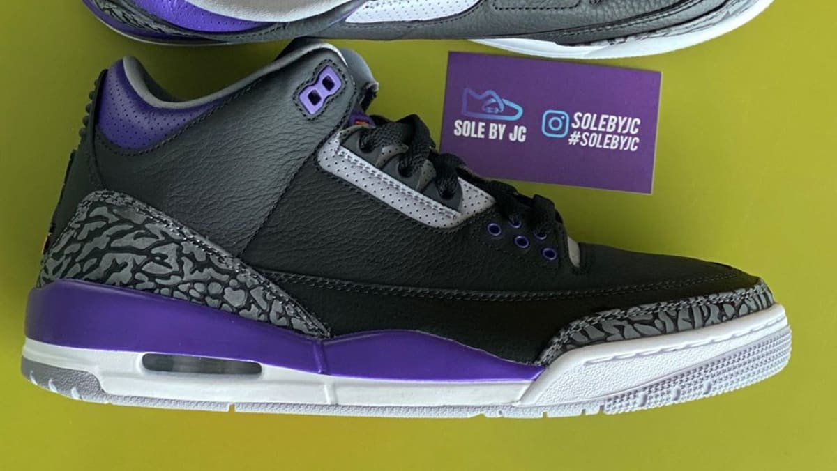 'Court Purple' Air Jordan 3 Release Could Be Releasing After All