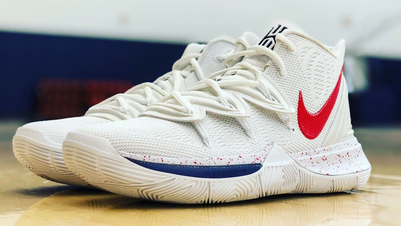 brand new cd045 ef914 Nike Kyrie 5  UConn Huskies  PE   Sole Collector