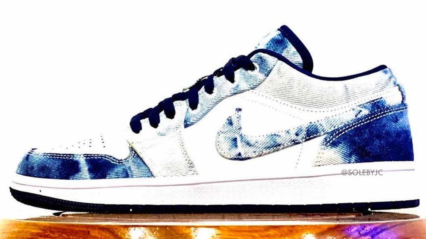 Air Jordan 1 Low Washed Denim Release Date Sole Collector