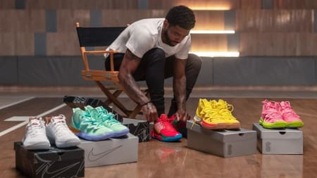 ba4ebbaa1 Kyrie Irving Previews the Entire 'SpongeBob SquarePants' Collection. Release  Dates