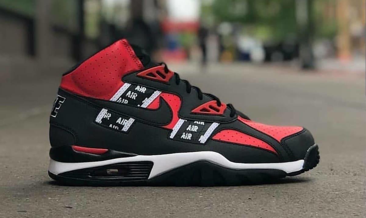 Nike Air Trainer SC High SOA Speed Red Release Date AQ5098 ...