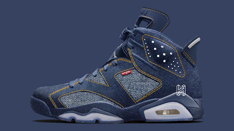 release date 8d42e 2d81d Levi's x Air Jordan 6 Retro Release Date 2020 | Sole Collector