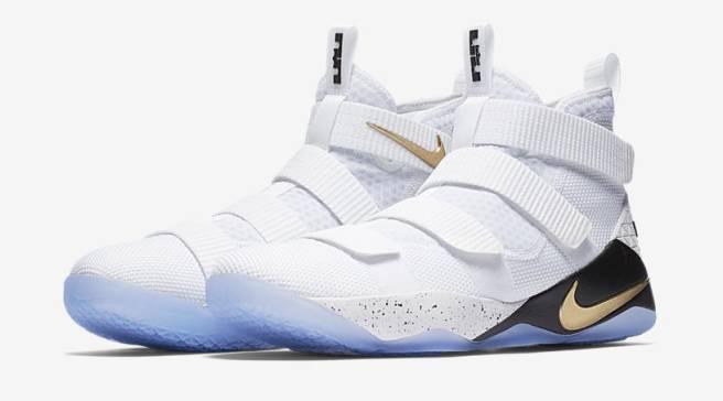 4a201d8a2c0 Nike Unveils LeBron James  Eleventh Soldier Sneaker