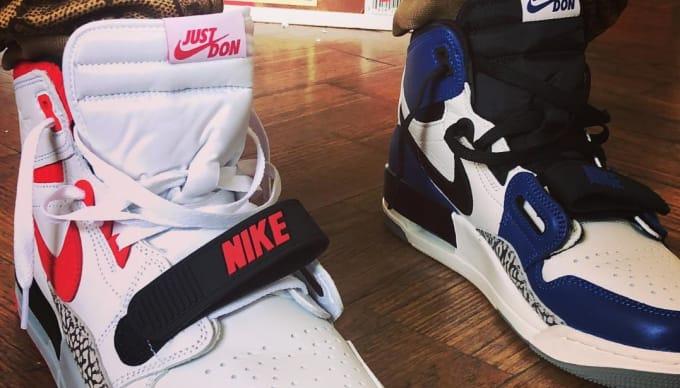 505fcadd10a8e0 ... ireland czech air jordan 14 ice blue custom new basketball shoes 12c2f  42a9d ireland don cs