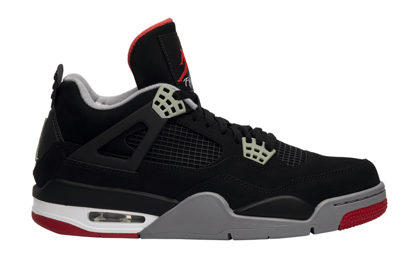 promo code b1224 bf560 How the  Bred  Air Jordan 4 Has Evolved Over the Years   Sole Collector