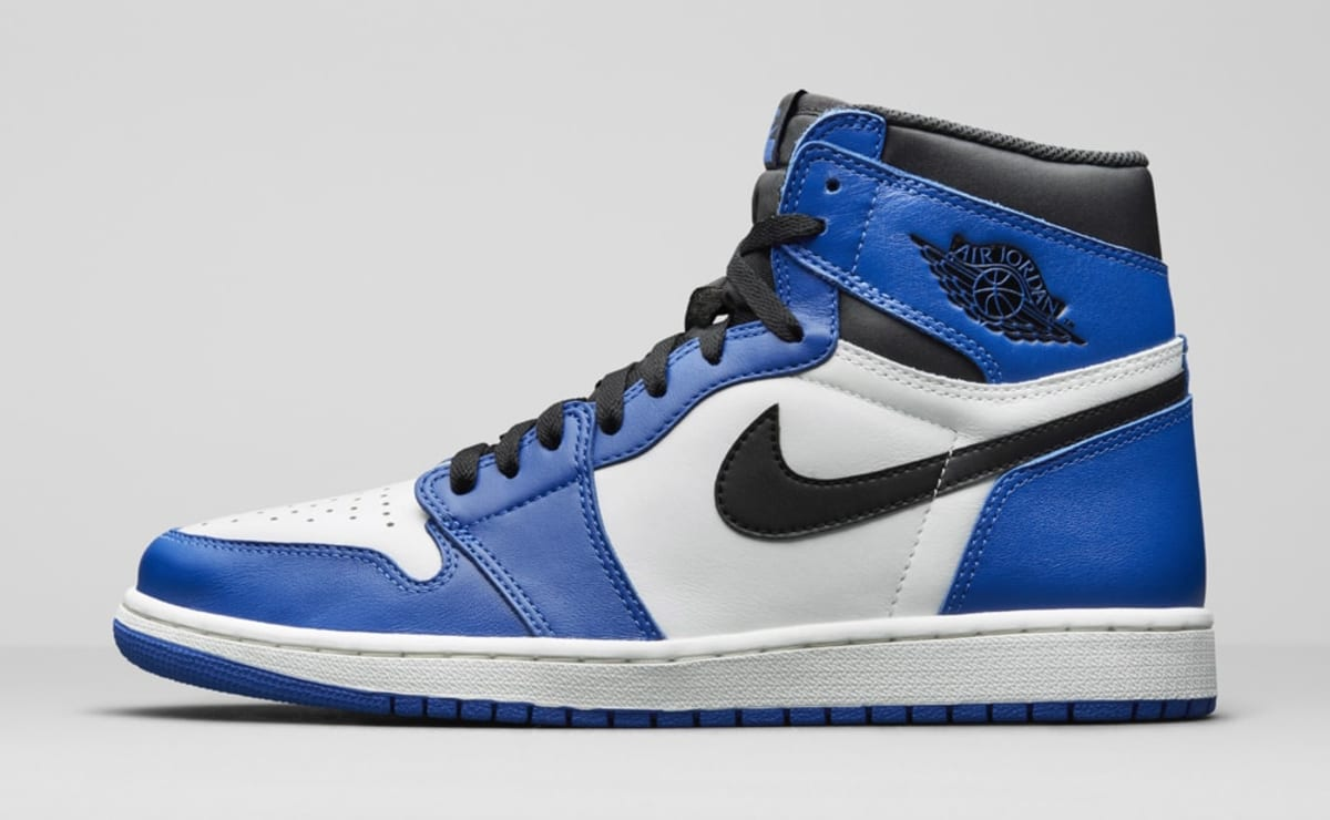 reputable site ebe4c 79884 Air Jordan 1 I High Game Royal Release Date 555088-403   Sole Collector
